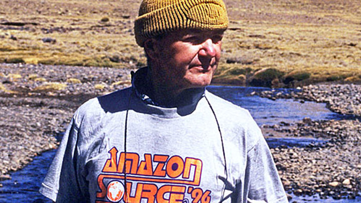 Jacek Palkiewicz's discovery of the Amazon River source