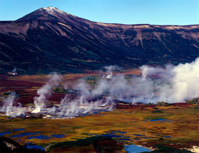 Kamchatka, the valley of geysers 1