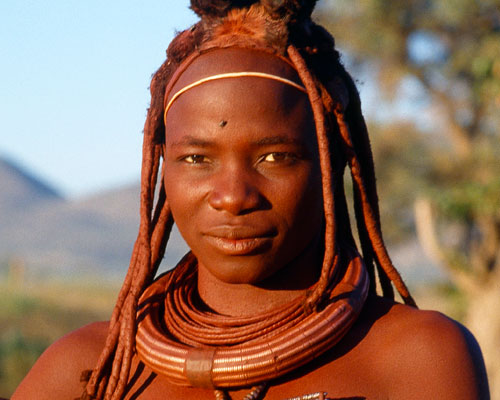 Jacek Palkiewicz and the Himba tribe