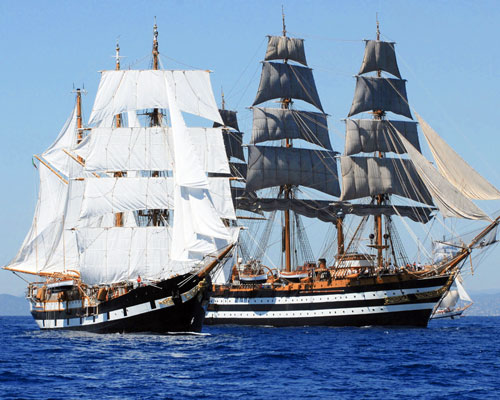 Jacek Palkiewicz and the tall ships