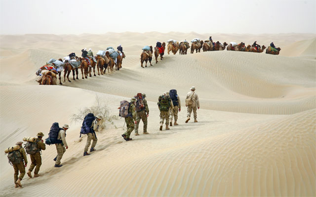 Jacek Palkiewicz's expedition through Taklamakan desert 2