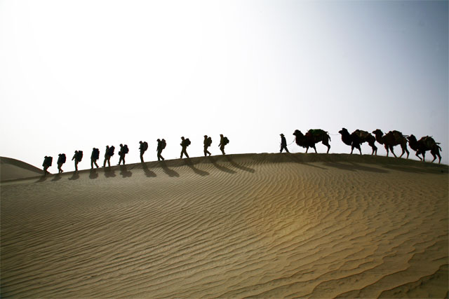 Jacek Palkiewicz's expedition through Taklamakan desert Taklamakan 8