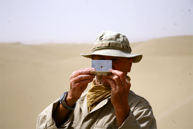 Jacek Palkiewicz's expedition through Taklamakan desert 9