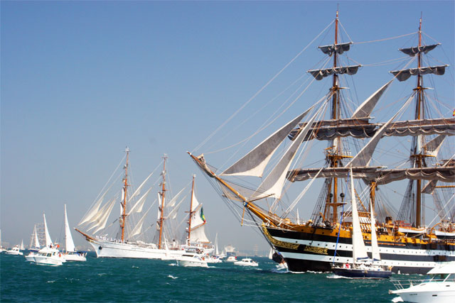 Jacek Palkiewicz and the tall ships 1