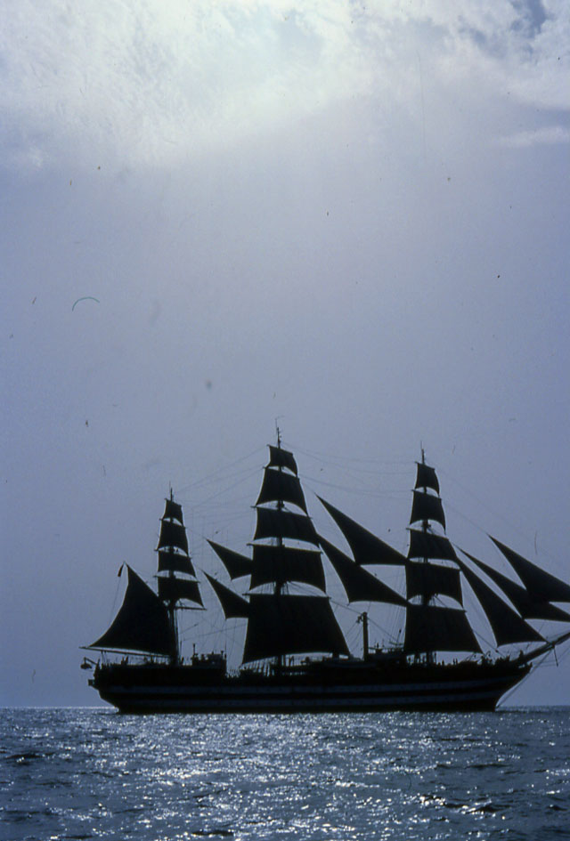 Jacek Palkiewicz and the tall ships 4