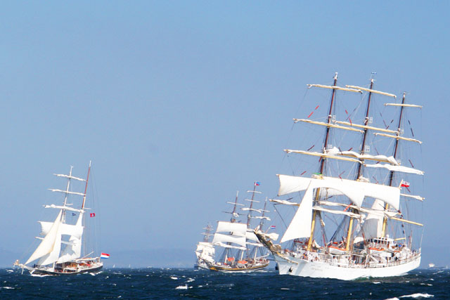 Jacek Palkiewicz and the tall ships 8