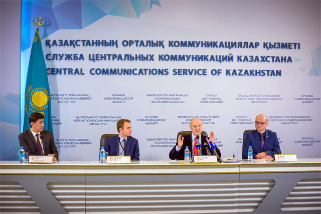 Organizational visit and press conference of Jacek Palkiewicz in Astana, Kazakhstan 2016 3