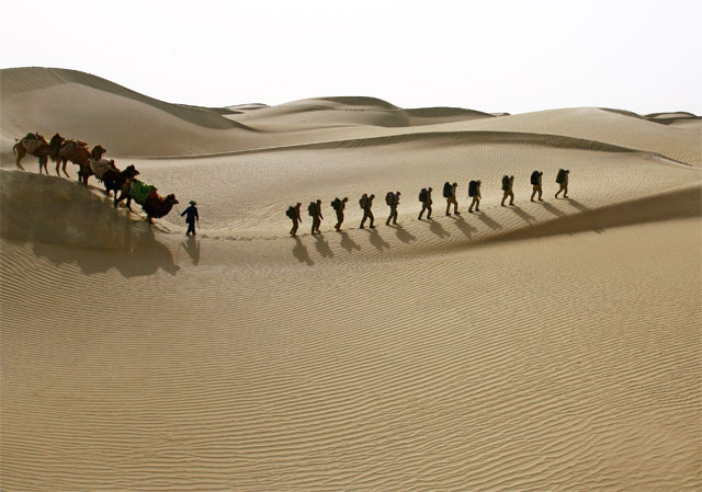 Photos from the Taklamakan desert expedition 25 - Jacek Palkiewicz